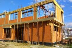 Stawianie ścian piętro