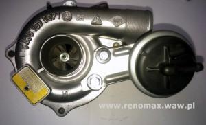 naprawa lub wymiana turbosprężarki Renault Peugeot Citroen