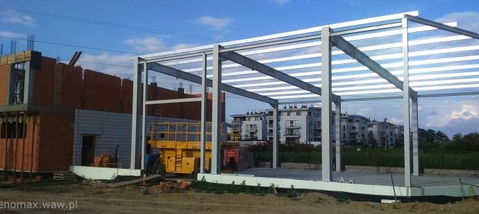budowa hali stalowej